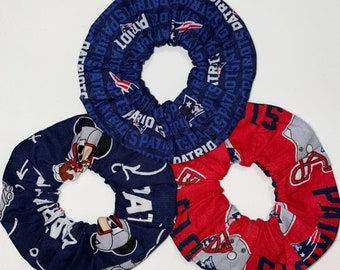 New England Patriots Scrunchies  Handmade This Is For 2