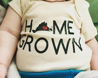 Home Grown Martha's Vineyard Onesie