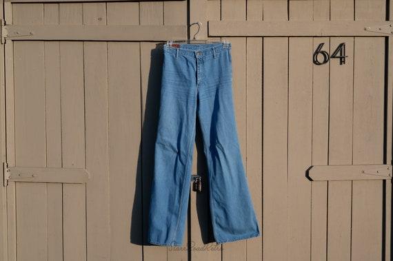 Vintage Landlubber Blue Jeans, Denim, High Waist,