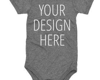 f31f326f7 Custom baby onesie Customized Quote Quotation Any Text Font Personalized  Funny Humor onesie Gift Short Sleeve Onesie