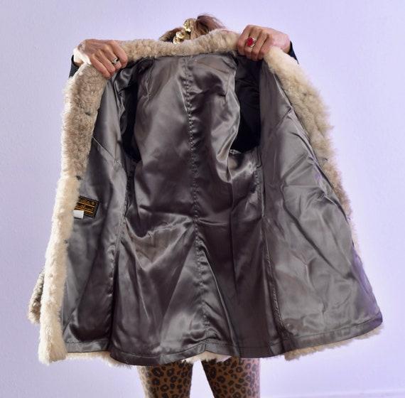 Eddie Bauer/ Vintage Sheepskin Coat/ Vintage Shea… - image 9