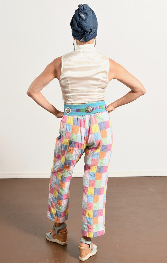 Brooks Brothers/ 80's Patchwork Pants/ 80's Prepp… - image 4