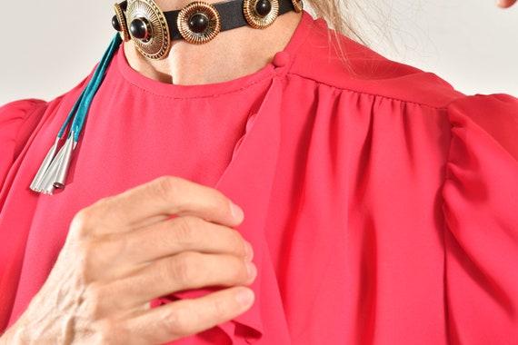 Ayers by E. Eysen/ Pink Chiffon Dress/ Chiffon Se… - image 7