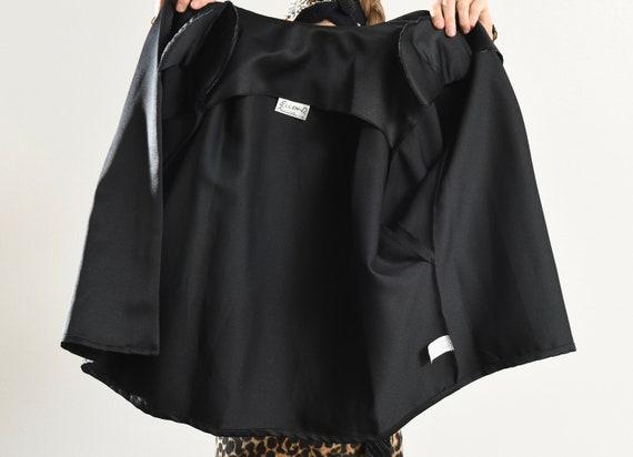 Black Kimono Blazer/ 80's Kimono/ 80's Kimono Jac… - image 10