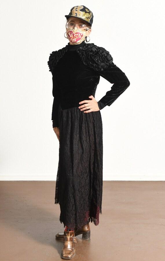 Rare Gunne Sax/ Gunne Sax Velvet Dress/ Gunne Sax… - image 5
