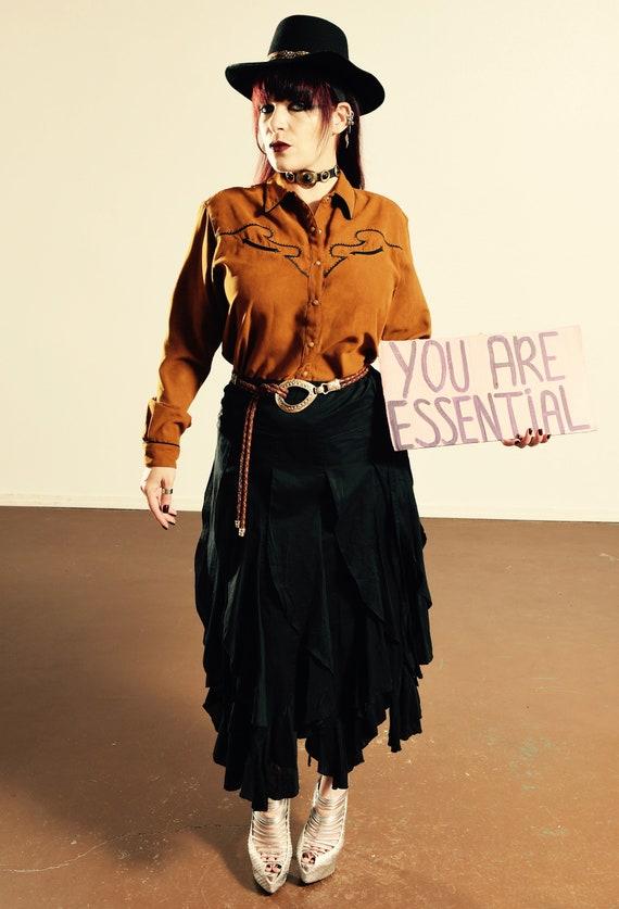 WRANGLER/ Vintage Wrangler Cowboy Shirt/ Wrangler