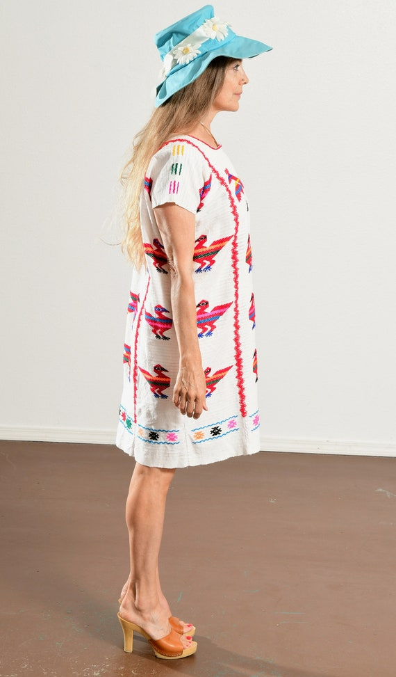 Mexican Embroidered Dress/ Mexican Embroidered Tu… - image 3