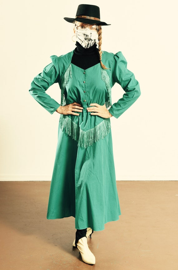 Lilia Smitty/ Lilia Smitty Western Fringe Dress/ T