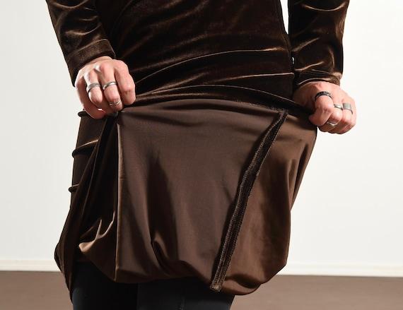 Carole Little/ Carole Little Dress/ 90's Velour D… - image 9