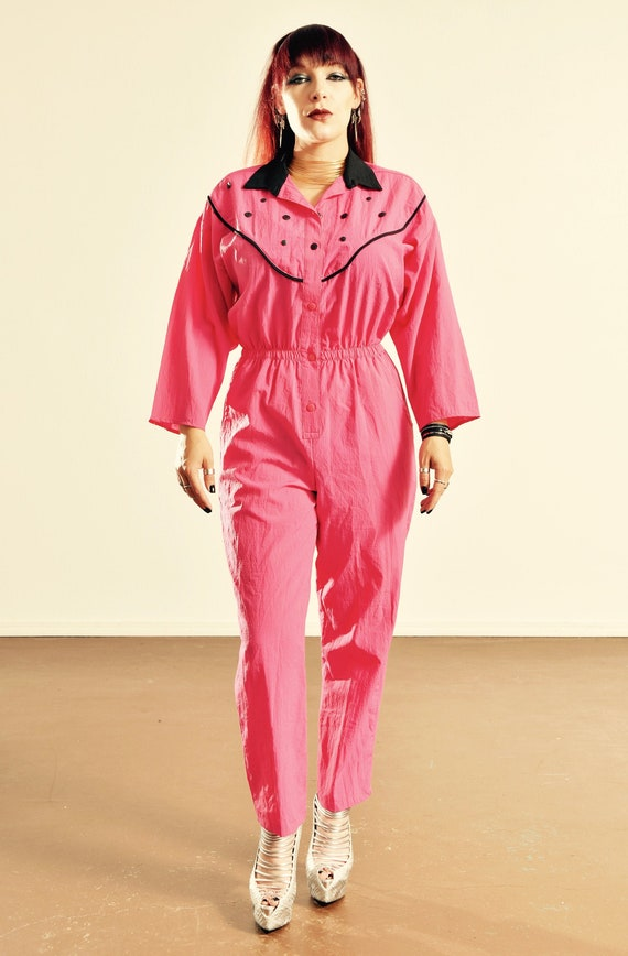 DEE of California Jumpsuit/ 80's Jumpsuit/ 80's Ho