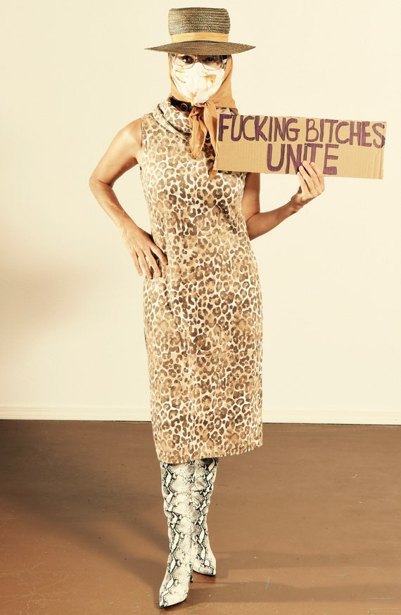 J. McLaughlin/ Leopard Print Dress/ Leopard Print