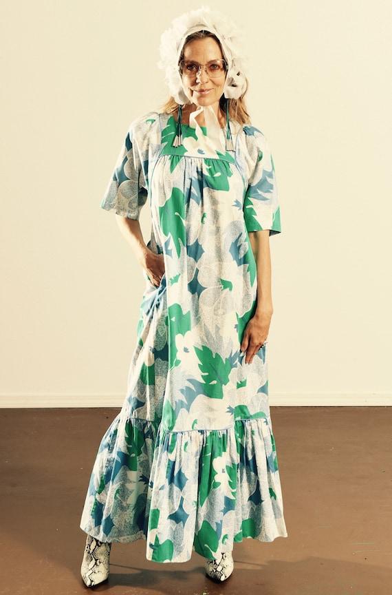 Pomari Private Collection/ Vintage Hawaii Dress/ C