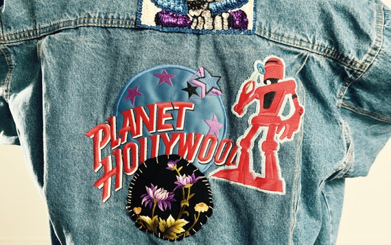 Planet Hollywood Moscow Denim Jacket/ Planet Holly