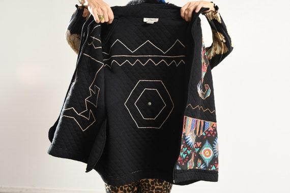 rafael Jacket/ Vintage quilted jacket/ Southwest … - image 9