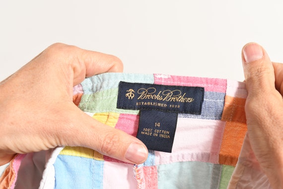Brooks Brothers/ 80's Patchwork Pants/ 80's Prepp… - image 9