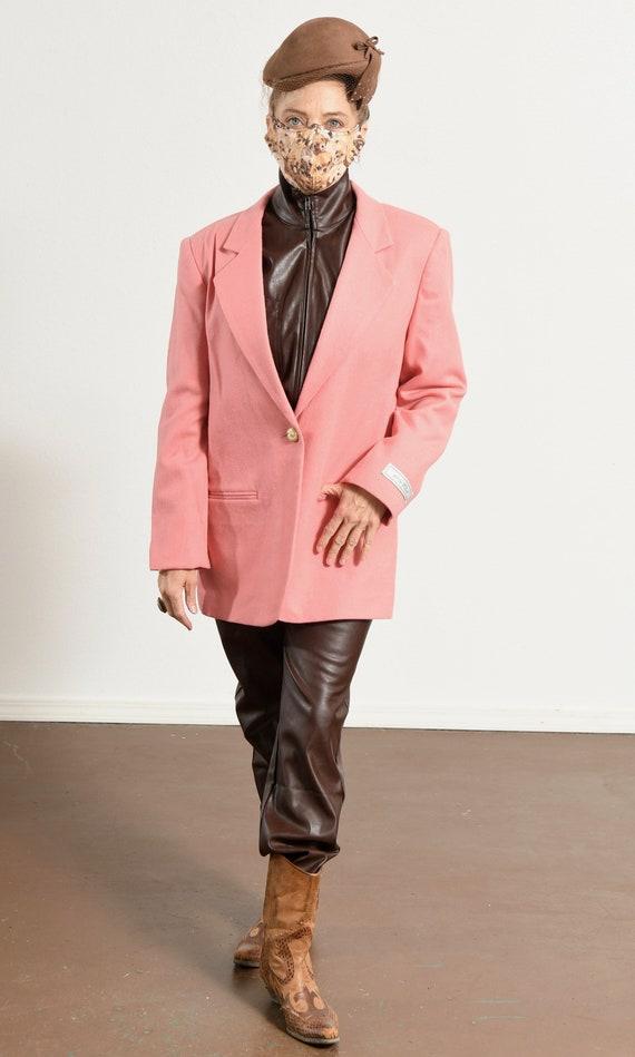 SAVANNAH/ Savannah Blazer/ 80's Wool Blazer/ Vint… - image 2