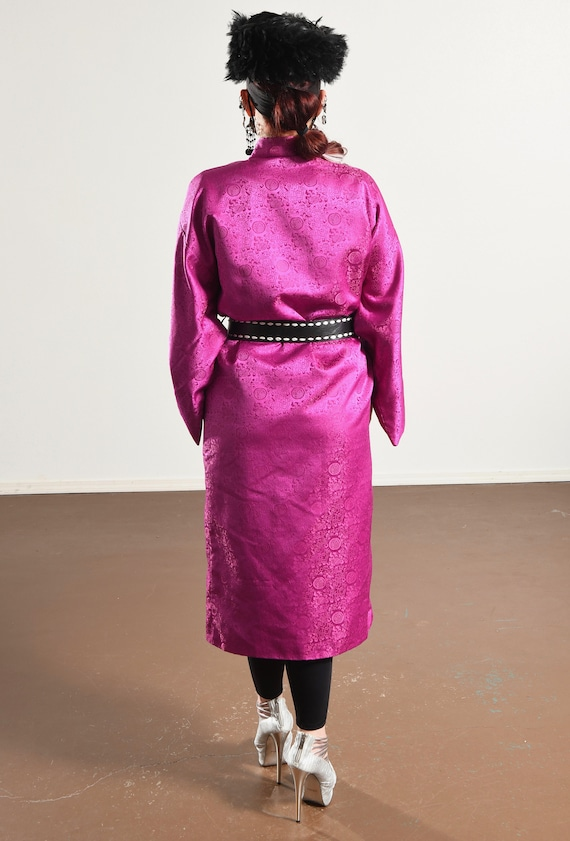 Vintage Kimono/ Fuchsia Kimono/ Pink Kimono Robe/… - image 6