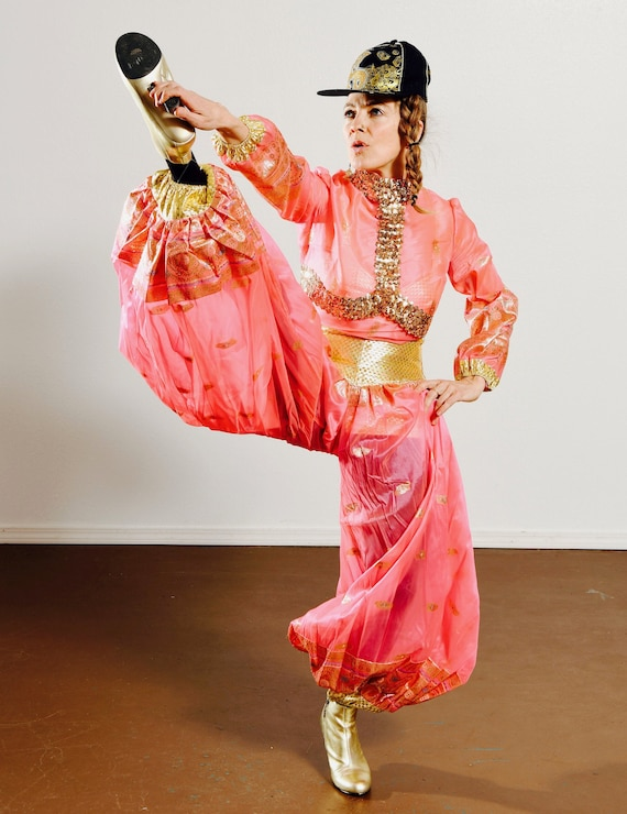 Arabian Horse Rider Costume/ Arabian Costume/ Geni