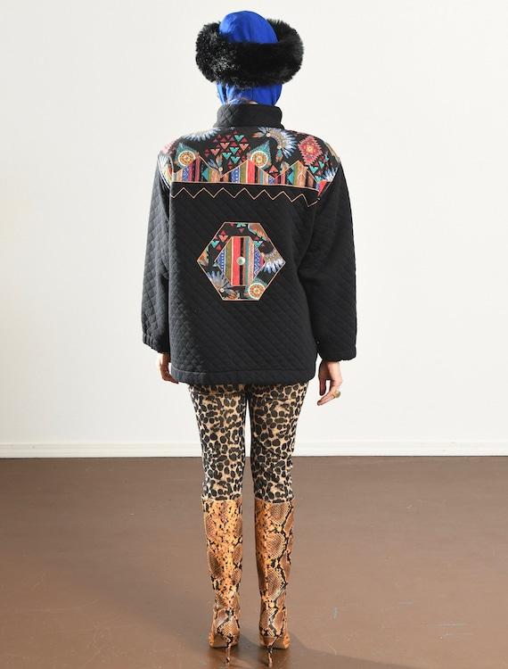 rafael Jacket/ Vintage quilted jacket/ Southwest … - image 4