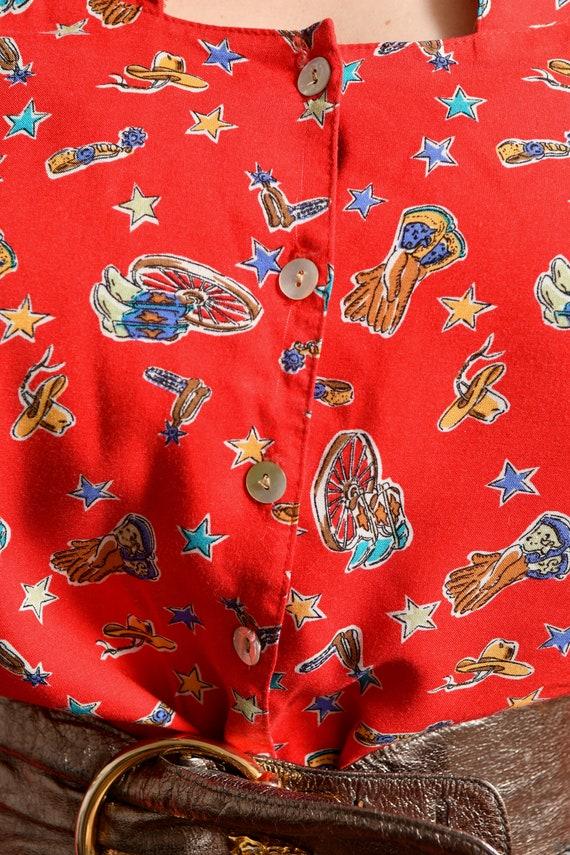 Country Western Two Piece Skirt Set/ Western Prai… - image 8