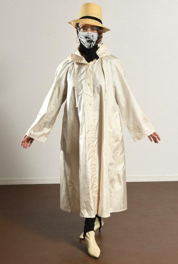 Alorna Rain Coat/ Vintage Rain Trench/ 80's Rain … - image 2