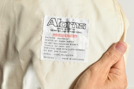 Alorna Rain Coat/ Vintage Rain Trench/ 80's Rain … - image 10