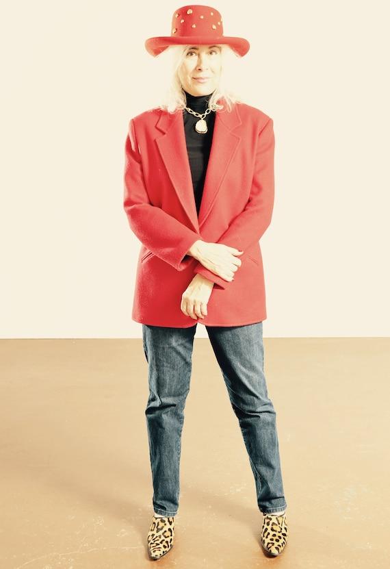 Pioneer Wear Wool Blazer/ Southwest Wool Blazer/ S