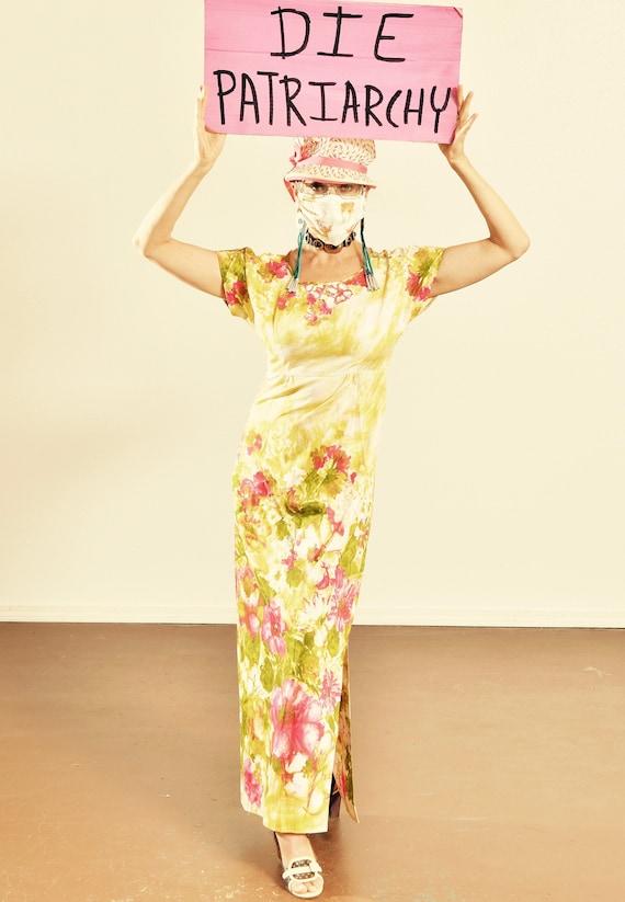 Le Voy's/ Cotton Cheongsam/ Floral Cotton Cheongsa