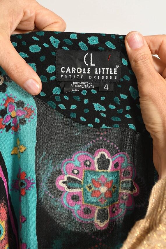 CAROLE LITTLE/ Carole Little Petites/ 80's Drop W… - image 10