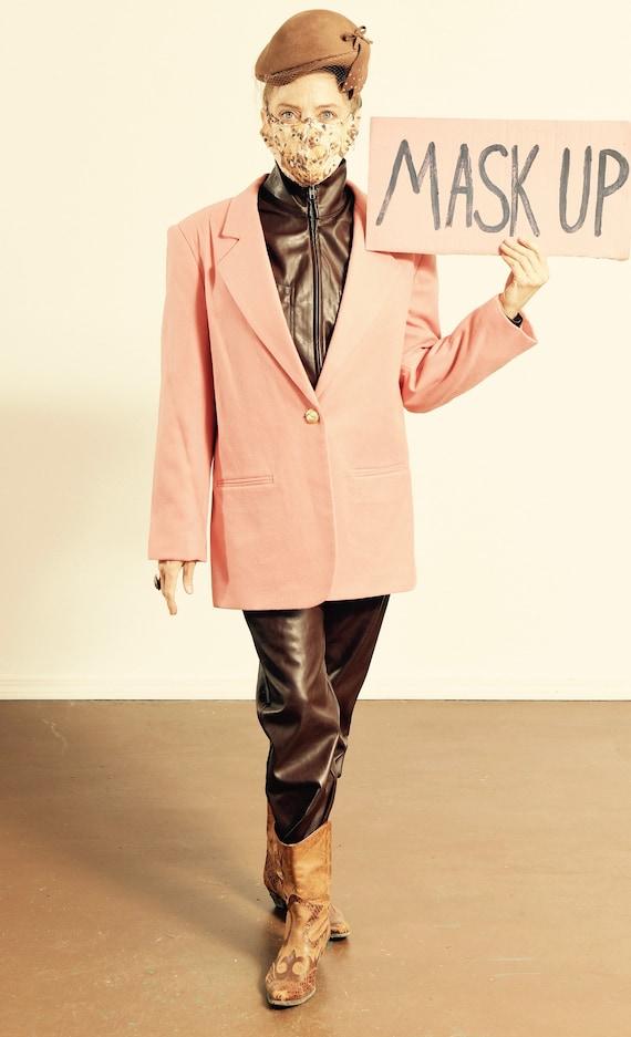 SAVANNAH/ Savannah Blazer/ 80's Wool Blazer/ Vint… - image 1