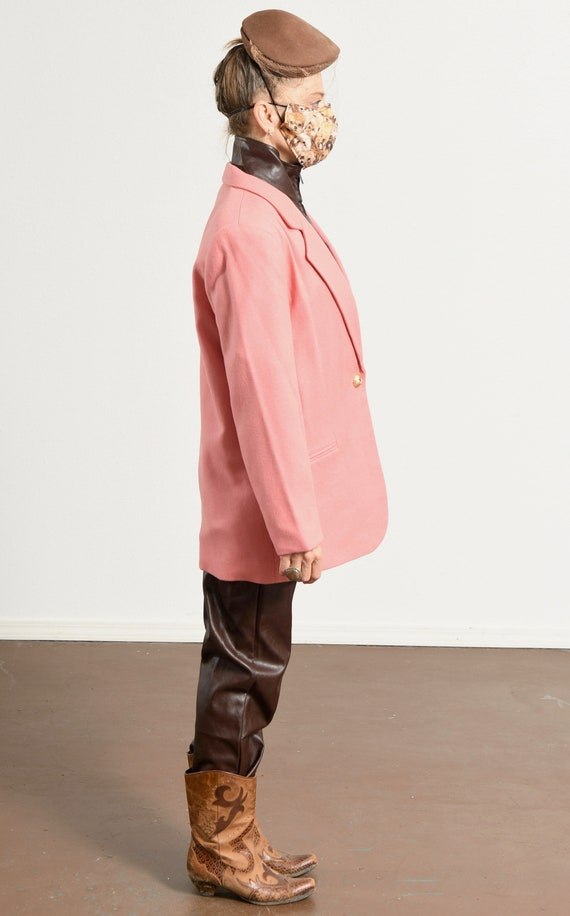 SAVANNAH/ Savannah Blazer/ 80's Wool Blazer/ Vint… - image 4