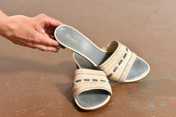 Vintage Cole Haan Resort Shoes/ Cole Haan Mules/ … - image 5