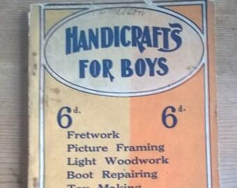 Handicraft For Boy Etsy