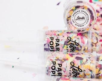 Colorful Confetti Poppers Pink Confetti Multicolor Confetti Tween Party Confetti Birthday Confetti Holiday Confetti BFF Gift