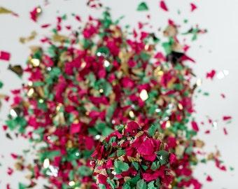 Bulk Christmas Confetti, Holiday Confetti, Bulk Holiday Confetti, Festive Confetti