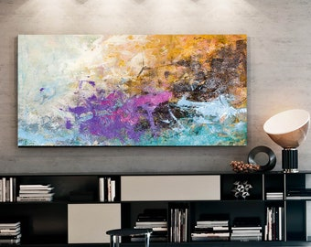 b8f1cdf34ec Large Acrylic Abstract Textured Paintings