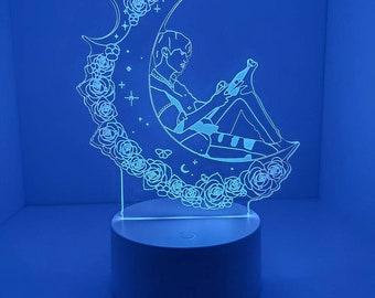 SHINee Jonghyun - Acrylic Led Light