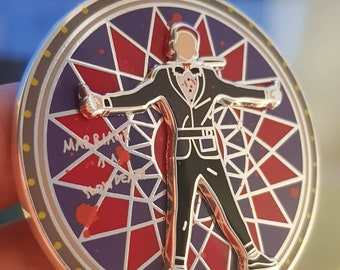 """SHINee KEY - """"Married To The Music"""" spinning pin (PRE-ORDER)"""