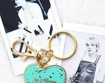 "SHINee - Jonghyun  ""As Always, I Need You"" Key rings"