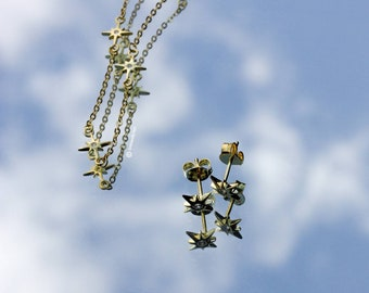 "Nothern Star ""Selene 6.23"" Earrings (No necklace)"