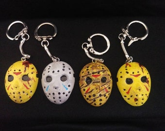 Jason Mask Keychains