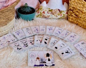 "Yoga card game ""the Yogitudes"""