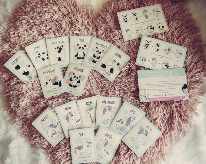 Featured listing image: Yoga card game