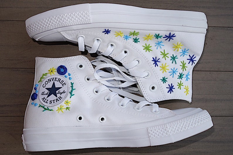 f6123f76a4707 Custom Painted/Embroidered Shoes