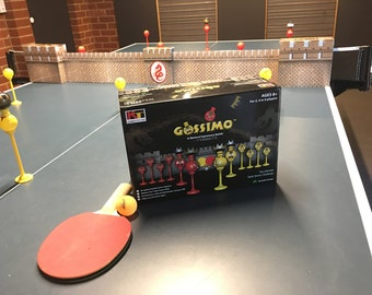 Gossimo - The worlds first ultimate table tennis challange game