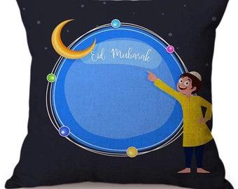 Ramadan Mubarak Decoration Cushion Cover Home Muslim Islamic Decor Eid Decorations