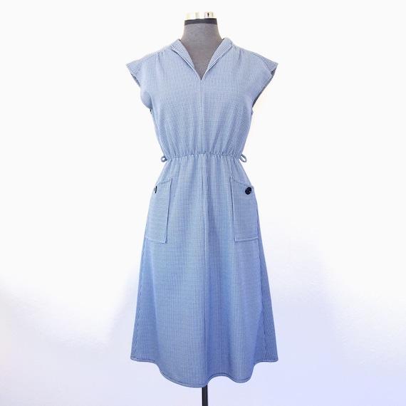 Gingham 60's Summer Dress