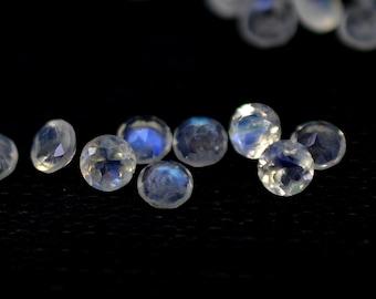 Rainbow Moonstone Gemstone Cut-Moonstone Cut Stone-Natural Rainbow Moonstone Faceted Cut Oval Gemstone-20x13x6 MM-Wholesalegems-BS10798