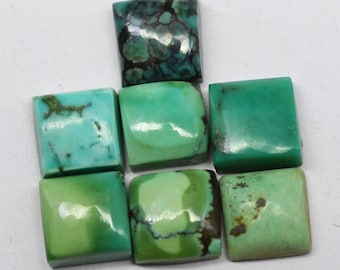 Square gems Tiny Cab,Super Quality gem for Jewellery Smooth Square cabochon,size 6x6 8x8 10x10 12x12 mm 10 pieces AMAZONITE Square cab