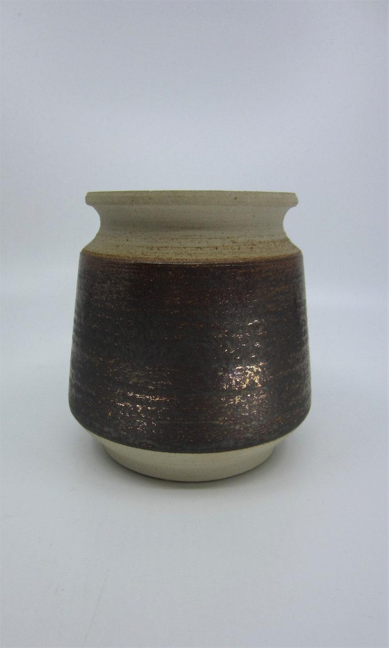 Vintage Swedish Törngren glazed ceramic pot / jar designed by Erik  Jakobsson Falkenberg Sweden Scandinavian pottery Nordic fine art ceramics